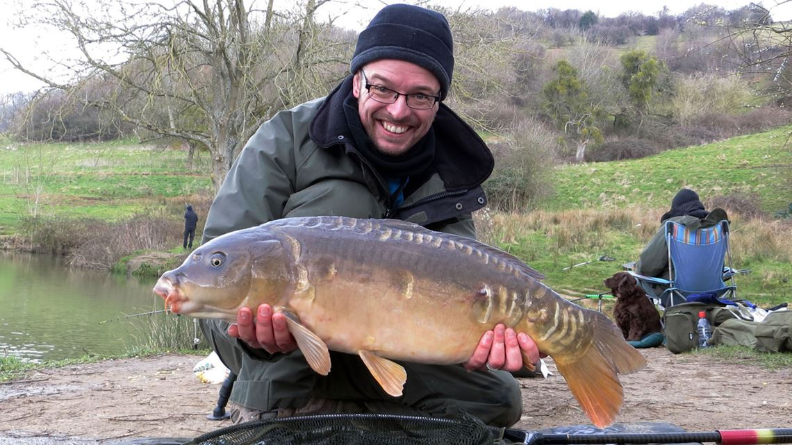 Mirror carp from Lower Kilcot Farm