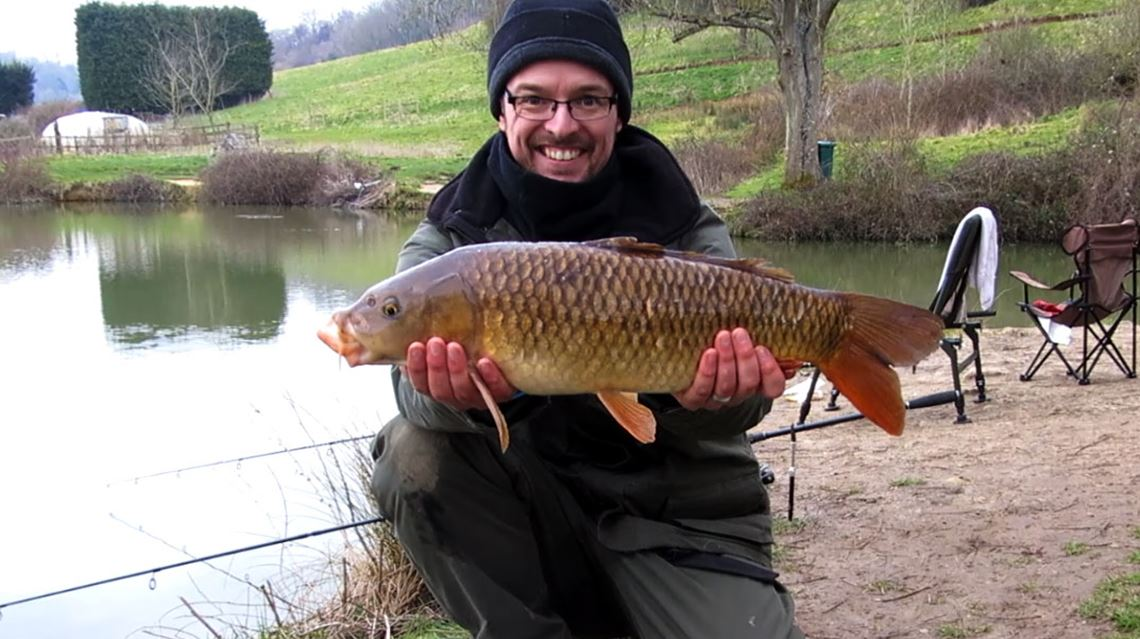 Common carp from Lower Kilcot Farm