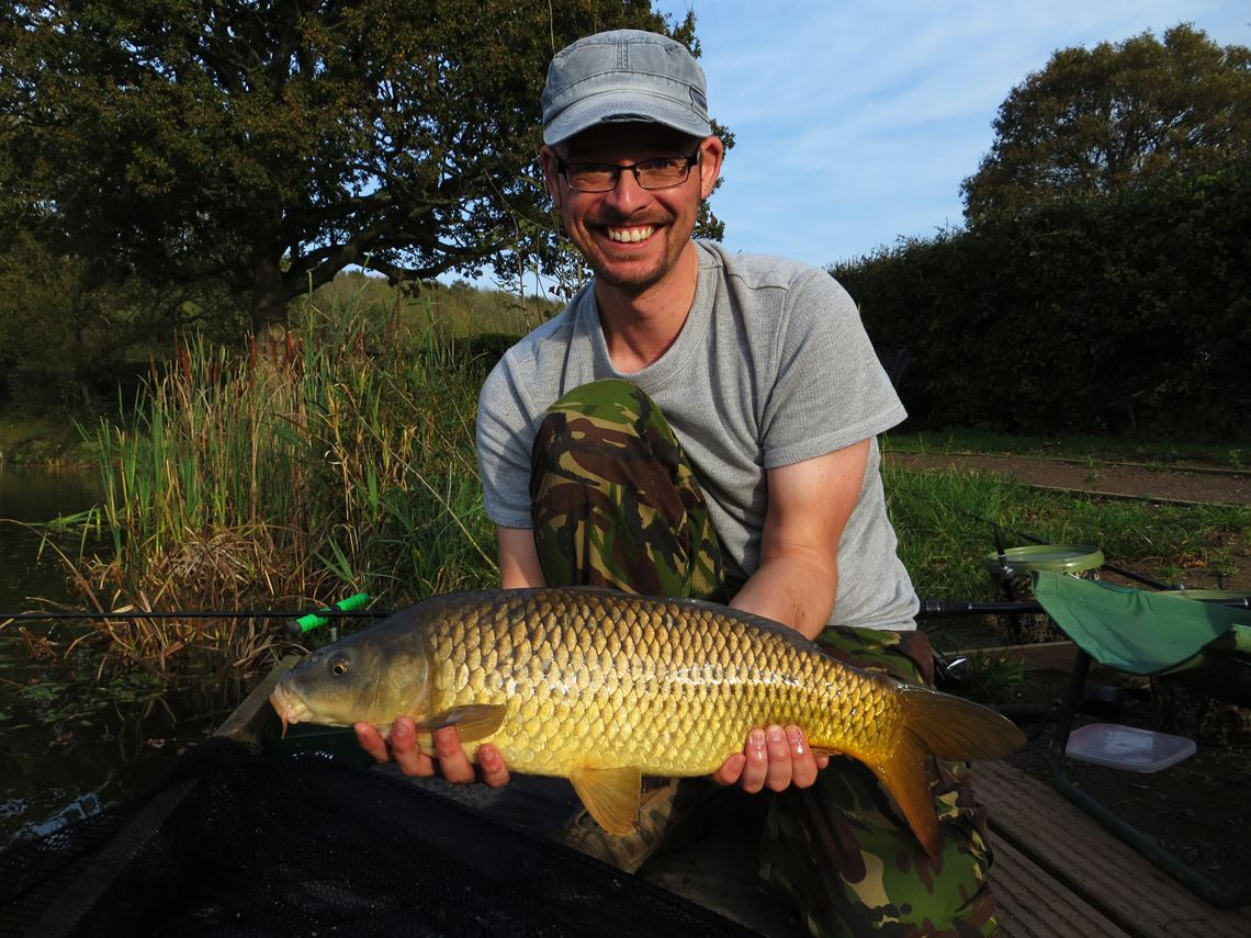 Common carp from Bitterwell Lake
