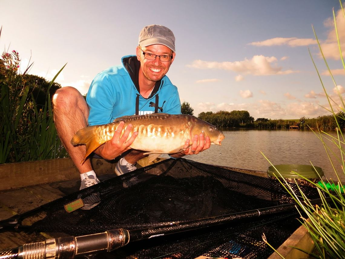 Mirror carp from Tarka Swims Fishery