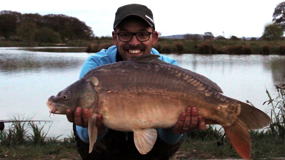 3rd Mirror Carp from Little Hayes at Todber Manor