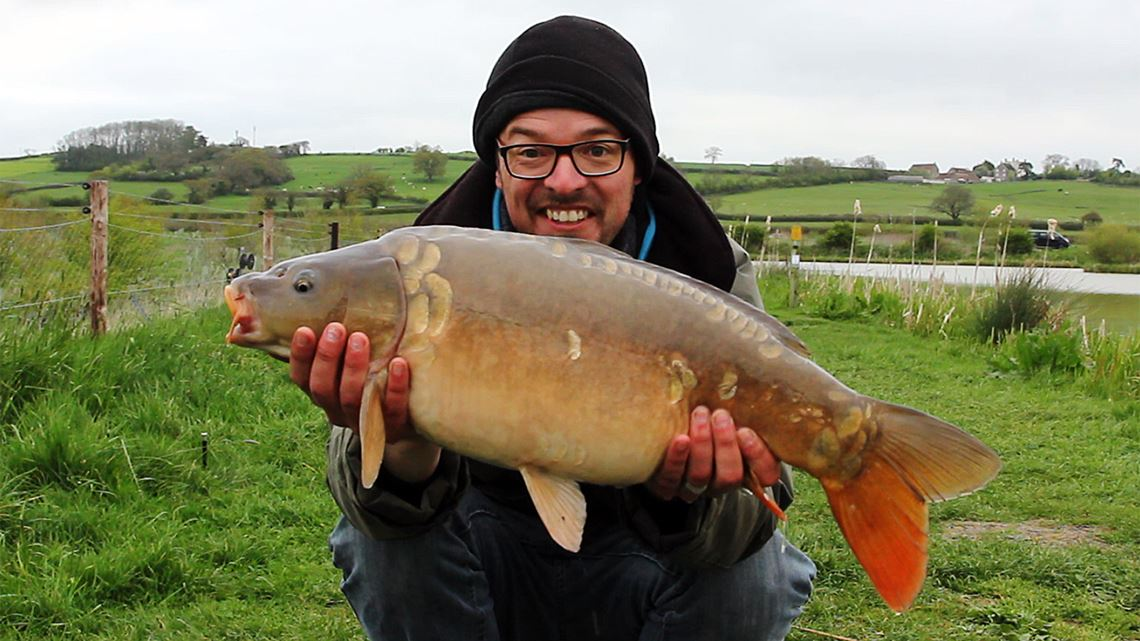 Mirror carp from Long Lake at Cokin Farm