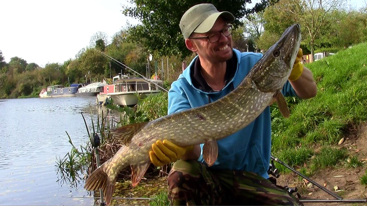 An Autumn Pike from the Bristol Avon