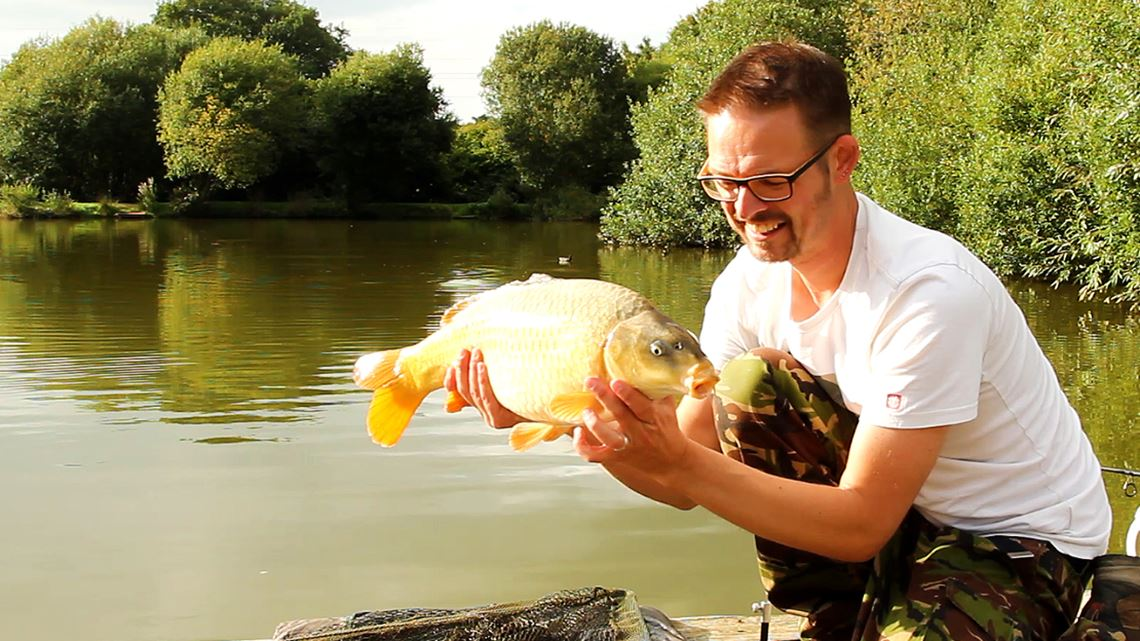 Ghosty Common Carp caught at Follyfoot Fishery