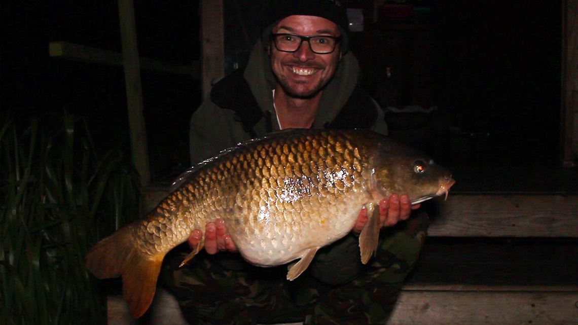 Common Carp caught at Follyfoot Fishery