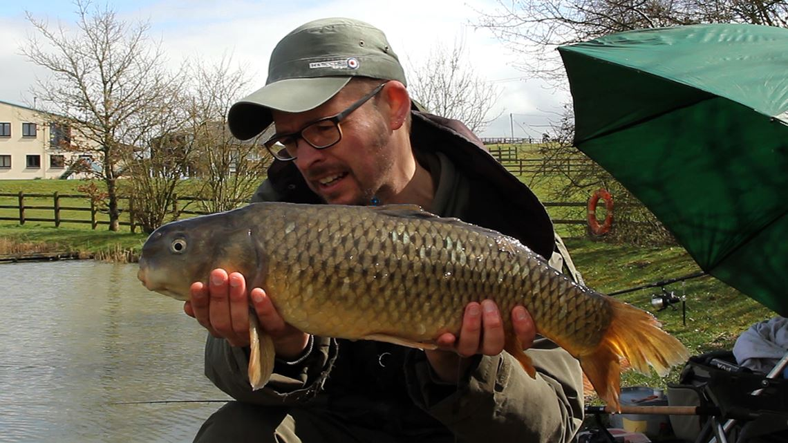 Common Carp caught at Hunters Lake