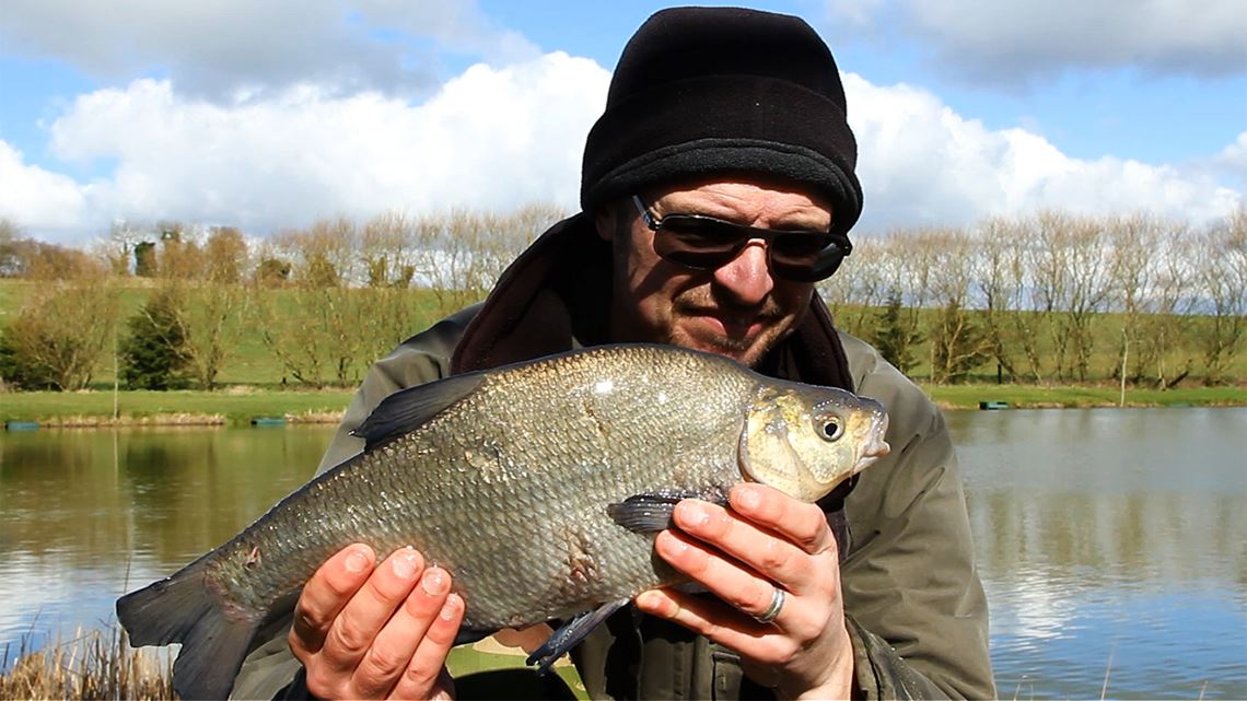 Bream caught from Hunters Lake