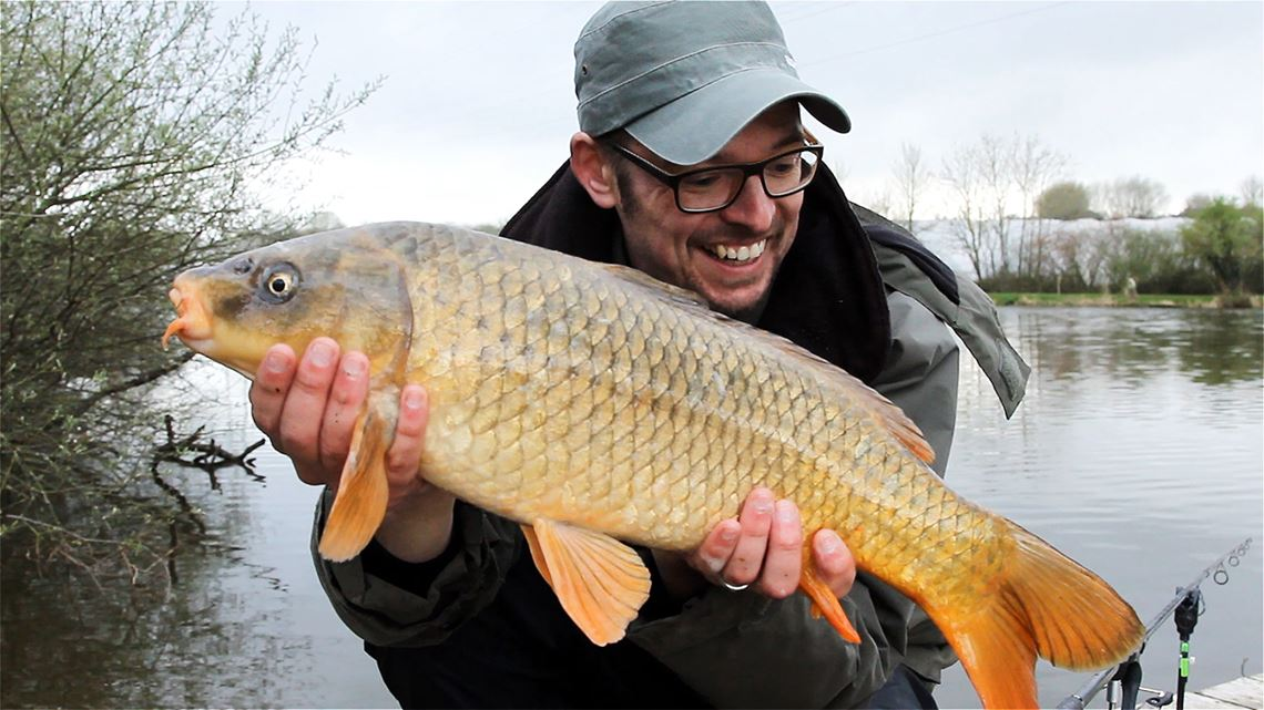 Ghosty Common Carp caught from Follyfoot Fishery