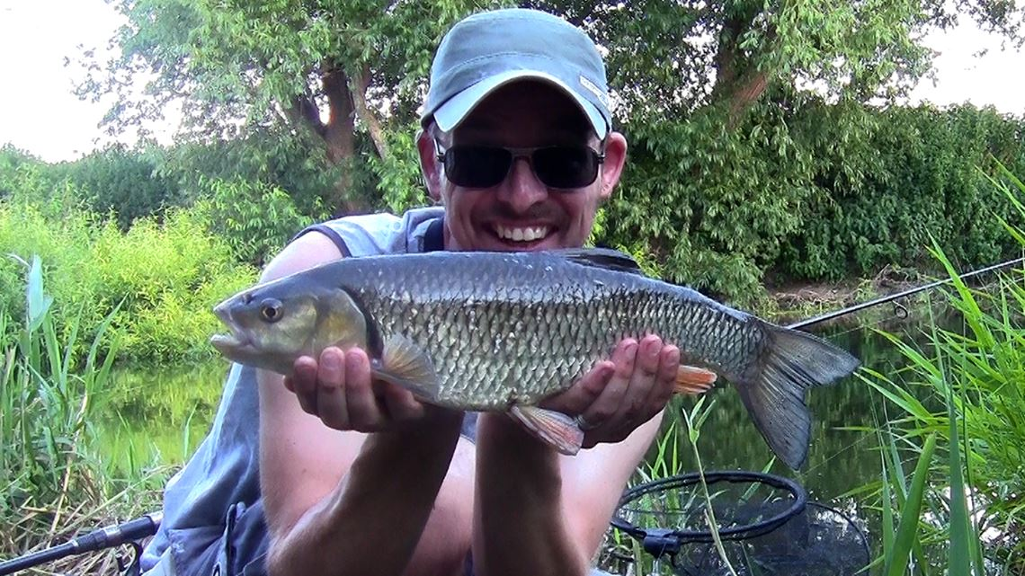 Chub caught from the Bristol River Avon at Swineford