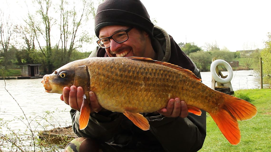 Ghost Carp caught from Follyfoot Fishery