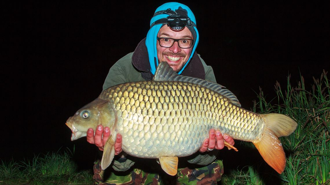 1st Common Carp from Little Hayes at Todber Manor