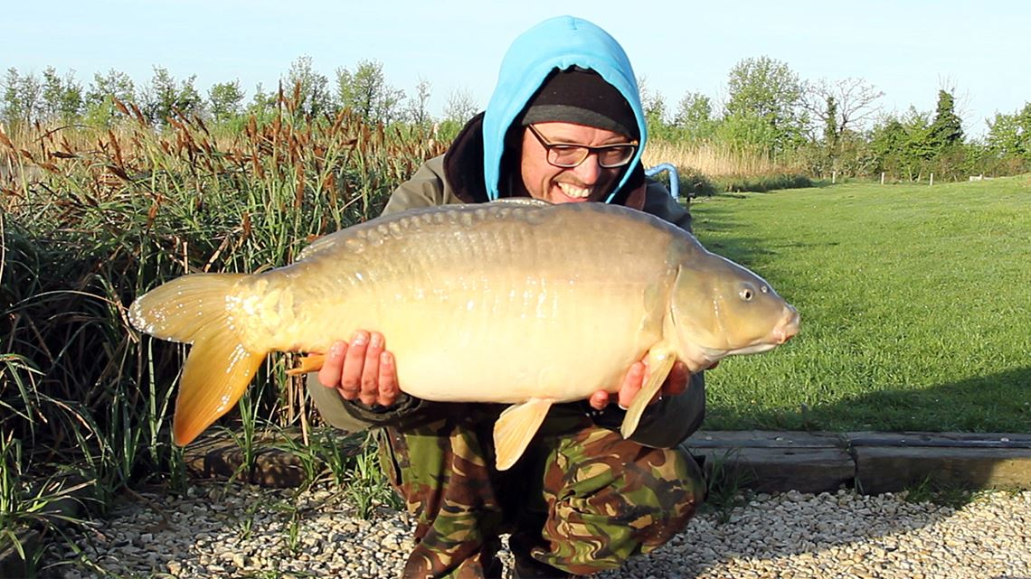 7th Mirror Carp from Little Hayes at Todber Manor